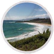 Kauai Surf Round Beach Towel