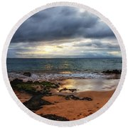 Keawakapu Sunset Round Beach Towel