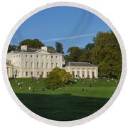 Kenwood House Hamstead Heathouse Round Beach Towel