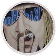 Kid Rock Round Beach Towel