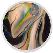 Kikeriki Round Beach Towel