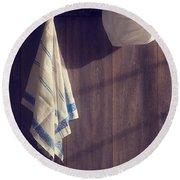 Kitchen Wall Round Beach Towel
