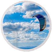 Kitesurfer Round Beach Towel