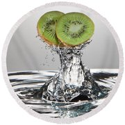 Kiwi Freshsplash Round Beach Towel