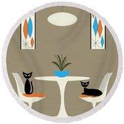 Knoll Table Round Beach Towel
