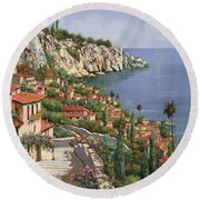 La Costa Round Beach Towel