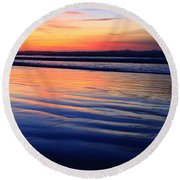 La Jolla Shores Round Beach Towel
