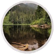 Lake Elizabeth Round Beach Towel