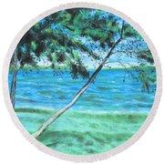 Lakeland 3 Round Beach Towel
