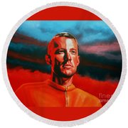 Lance Armstrong 2 Round Beach Towel