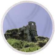 Italian Landscapes - Land Of Immortal Round Beach Towel