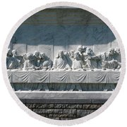 Round Beach Towel featuring the photograph Last Supper by Greg Patzer