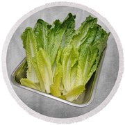 Leaf Lettuce Round Beach Towel