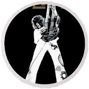 Led Zeppelin No.06 Round Beach Towel