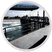 Led Zeppelin - The Beach Round Beach Towel