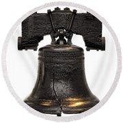Liberty Bell Round Beach Towel