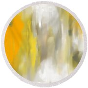 Light And Grace Round Beach Towel by Lourry Legarde