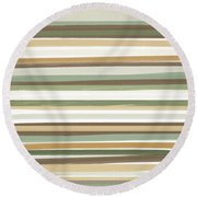 Light Mocha Round Beach Towel