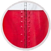 Lighthouse Architecture Round Beach Towel