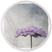 Lilac Round Beach Towel