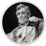 Lincoln Round Beach Towel