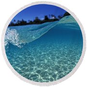 Liquid Energy Round Beach Towel