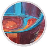 Liquid Sway Round Beach Towel