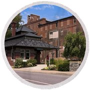 Lititz Pennsylvania Round Beach Towel