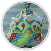 Little Princess Round Beach Towel