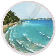 Litttle Cove Beach Noosa Heads Queensland Australia Round Beach Towel