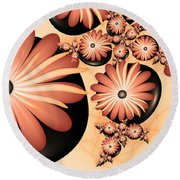 Living Stones Round Beach Towel