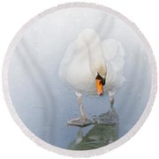 Look Alike Round Beach Towel