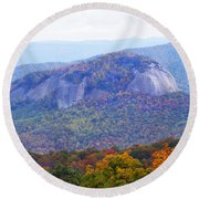 Looking Glass Rock 2 Round Beach Towel