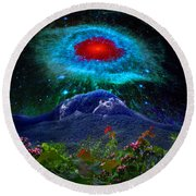 Looking Glass Rock Event 1 Round Beach Towel