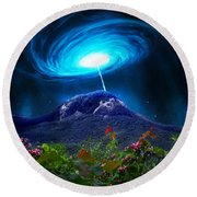 Looking Glass Rock Event 2 Round Beach Towel
