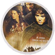Lord Of The Rings Round Beach Towel