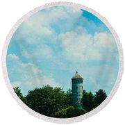 Lost In Time 2 Round Beach Towel