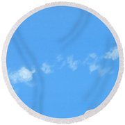 Lost Voices Round Beach Towel