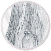 Lothlorien Mallorn Tree Round Beach Towel