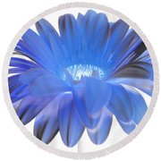 Round Beach Towel featuring the digital art Love Is A Gift by Jeannie Rhode