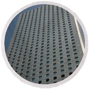 Low Angle View Of A Building, Jardine Round Beach Towel by Panoramic Images