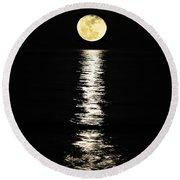 Lunar Lane Round Beach Towel by Al Powell Photography USA