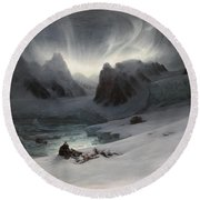 Magdalena Bay Round Beach Towel