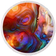 Magic Shell Round Beach Towel