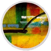 Magic Wall Art Round Beach Towel by Marvin Blaine