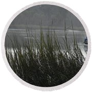 Magical Inlet Round Beach Towel by Patricia Greer