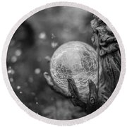 Magical Orb Round Beach Towel