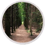 Magical Path Round Beach Towel