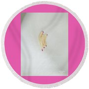 Magnolia Matches Round Beach Towel