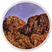 Round Beach Towel featuring the photograph Majestic 15 by Mark Myhaver